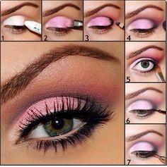 DIY eye shadow
