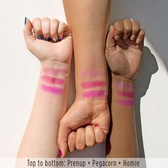 Satin Blush: Always be prepared with a prenup - a mid-tone plum pink in a satin finish