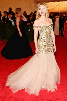 MAY 7, 2012  She looks regal in a Dolce & Gabbana gown during the Costume Institute Gala at the Metropolitan Museum of Art.