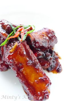 Minty's Kitchen: Sweet and Sour Spare Ribs