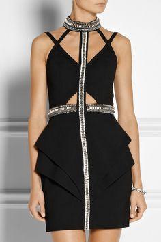 Sass & bide|With Virtue embellished woven mini dress|NET-A-PORTER.COM