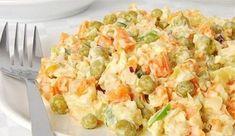 Kuřecí salát s mrkví a hráškem – mojekuchyn Potato Salad, Potatoes, Health, Ethnic Recipes, Fitness, Cooking, Health Care, Potato, Salud