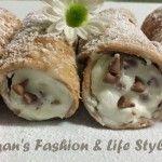 Cannoli Siciliani con Ricotta e Gocce di Cioccolata