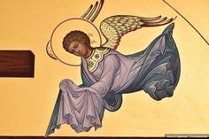 Ангел. Фрагмент иконы равноапостольных Константина и Елены