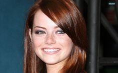 Emma Stone. SUCH a cute face.