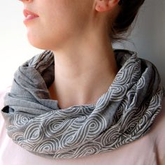 Clouds Scarf by Piano Nobile