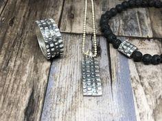 Men's Silver Collection by Artep-Bijoux #artepbijoux #artepschmuck #bijoux #silberschmuck #Workshop #artclay #artclaysilver #Silver999 #Silver #Ring #Anhänger #Amulett #bracelet #Leatherbracelet #weddingring #artclayworld #artclayworkshop #artclayswiss #Silverclay #Metalclay #metalclaysilver #metalclayjewelry #finesilverjewelry #Finesilber #BronzClay #Bronce #KeumBoo #Gold #swiss Bracelets For Men, Beaded Bracelets, Metal Clay Jewelry, Art Necklaces, Silver Ring, Modern Art, Workshop, Wedding Rings, Gold