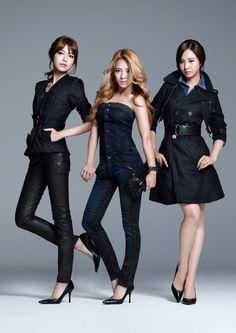 Sooyoung, Hyoyeon, and Yuri of SNSD