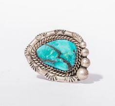 Vintage southwest native american turquoise ring size 9 native vintage southwest native american turquoise by thehouseatmcorner publicscrutiny Choice Image