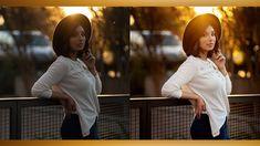 How I Edit My Natural Light Portraits - Lightroom & Photoshop Tutorial Photoshop For Photographers, Photoshop Photography, Best Photographers, Photoshop Tutorial, Photoshop Actions, Photography Tips, Portrait Photography, Lightroom, Portraits