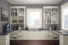 Ideas To Home Office. You and your partner work together? Do you like to bring work to home or even work together from home? Luckily if your house is . Nice 43 Extraordinary Small Home Office Design Ideas With Traditional Themes. Mesa Home Office, Home Office Space, Home Office Desks, Desk Space, Small Office, Office With Two Desks, Shared Office, Office Spaces, Family Office