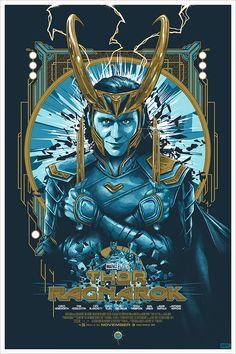 Thor: Ragnarok by Vance Kelly - Home of the Alternative Movie Poster -AMP- Loki Wallpaper, Avengers Wallpaper, Loki Marvel, Marvel Art, Marvel Movies, Asgard Marvel, Loki Avengers, Loki Thor, Loki Laufeyson
