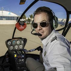 Valentine's Day Helicopter Tours are the best idea in Santa Barbara