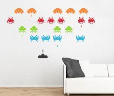 Vinilos Space Invaders