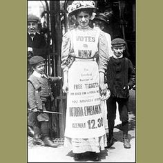 The suffragettes suspended their campaign to support the home front in World War One. In 1918 came the first stage of female suffrage - the 1918 Representation of the People Act, which gave property owning women over the age of 30 the right to vote.