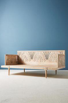 Slide View: 3: Carved Lovella Day Bed