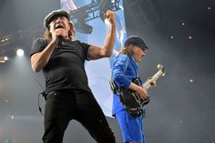 Brian Johnson 'Not Retiring'  -   In a heartfelt statement released on Tuesday, the AC/DC singer, 68, promised he's not going anywhere. The band goes back on tour again May 7 in Lisbon, Portugal, with fill-in singer Axl Rose of Guns N' Roses.  -      © Rob Grabowski/Invision/AP, File