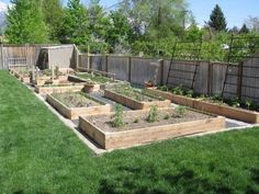 1000 images about garden layout ideas on pinterest for Vegetable garden box layout
