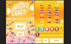 Word Candy Game For PC (Laptop & Mac) Free Download