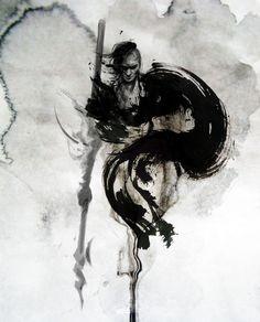 JUNGSHAN INK- illustration: Univearth