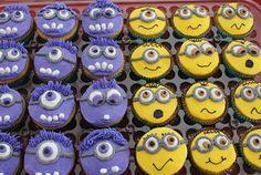purple minion cupcakes - Google Search