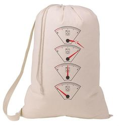 a084d2372041 Items similar to Grad Gift Gas Gauges Empty or Full Laundry Bag