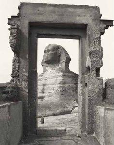 Des images extrêmement rares et anciennes du Sphinx que vous n'avez probablement jamais vues   Le Savoir Perdu Des Anciens