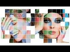 This Photoshop tutorial by Marty Geller from Blue Lightning TV will show you how to transform your photos into a beautiful, color-grid, mosaic graphics. Don't worry if you have limited Photoshop skills, this tutorial is quite easy and for everyone. Photoshop Art, Effects Photoshop, Photoshop For Photographers, Photoshop Photography, Photoshop Tutorial, Photoshop Actions, Lightroom, Photoshop Projects, Foto Portrait