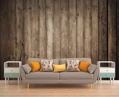 Wood Wall Mural Wood Wallpaper Wood Mural Wood by PhotoDecorByDani Wood Wallpaper, Self Adhesive Wallpaper, Photo Wallpaper, Industrial Shelving Diy, Personalized Wall Decals, Smooth Walls, Photo On Wood, Custom Wall, Home Decor Furniture