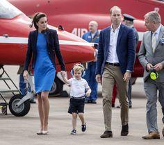 Kate Middleton Photos - The Duke & Duchess of Cambridge Visit the Royal International Air Tattoo - Zimbio