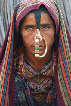 Asia - India / Jat people - tribe in Gujarat, via Flickr.