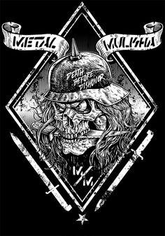 Metal Mulisha by Jonathan bergeron, via Behance