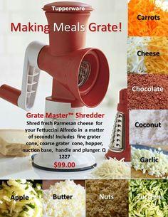 Grate Master Shredder Making America Great! Www.my.tupperware.com/wendystevens