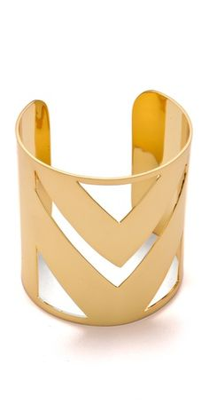 Chevron Cuff by @ccsky from @shopbop