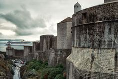 The city walls of Dubrovnik in Croatia. This is one of my my dream vaca's