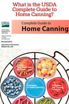 The USDA Complete Guide to Home Canning is considered the BIBLE of home canning. It's free online.