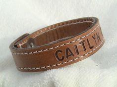 cute leather bracelet