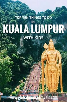 Kuala Lumpur is such a fun city for kids (and grown ups!). We have rounded up 10 of our favourite things to do including theme parks, cultural sights and rainy day activities. Click on the photo to find out more of the best things to do with kids in #kuala #lumpur