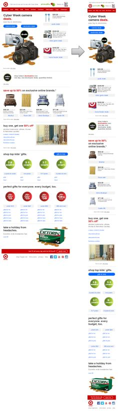 Responsive Email Design from Target