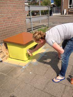 #streetart datsja for holland russia year 2013. Denkbeelden van Yvette van der Does. www.denkbeelden.com