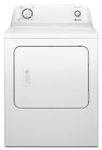 Amana 6.5 cu. ft. Traditional Electric Dryer with Automatic Dryness Control, NED4600YQ, White: Wedding Anniversary Gifts