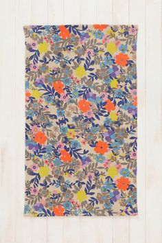 Cute for a iittle girls room. URBN Plum & Bow Meadow Rug