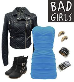 Bad Girl! Get your style attitude ready for fall! now available at http://www.mycolloseum.com