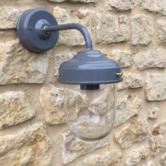 Exterior Barn Wall Light in Charcoal