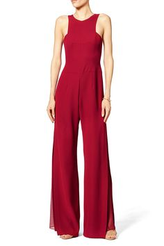 Garnet Jumpsuit by Halston Heritage for $85 | Rent The Runway