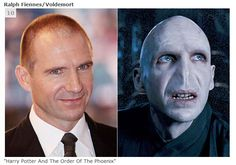 """Ralph Fiennes as Voldemort in """"Harry Potter and The Order of the Phoenix"""""""