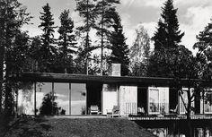 Utstilling om norske glasshus i Nasjonalmuseet – Arkitektur. «Det norske glasshuset» presenterer eneboliger av Arne Korsmo, Ove Bang, Sverre Fehn, Håkon Mjelva