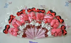 <3 <3 Minnie Mouse themed Sweet/Candy cones by Sweetie Pots <3 <3