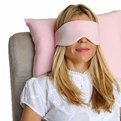 HappyLuxe Escape Sleep Mask Eye Mask Pink Crush Great for Sleep FlightsTravel * More info could be found at the image url.