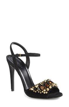 3f02c2f6ab3832 Women s Gucci  Malin  Suede Sandal